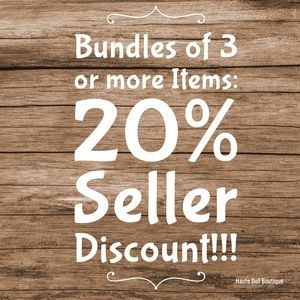 Other - Bundle and save 20% off 3 or more Items!